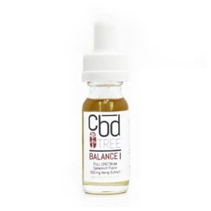 CBD Tree Balance I 600 mg tincture