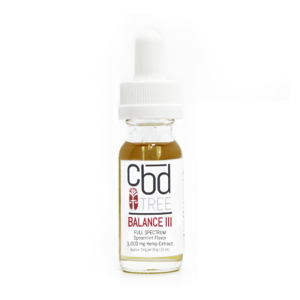 CBD Tree Balance III 1000 mg tincture