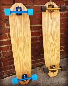 36″ Custom Crafted Cruiser Board