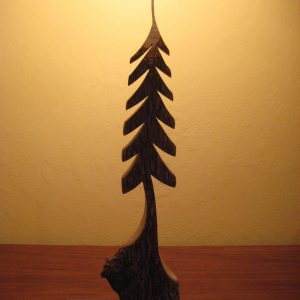 CUSTOM CARVED TREE -large #251