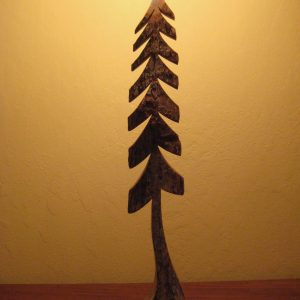 CUSTOM CARVED TREE -large #281