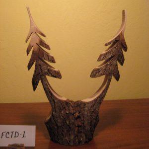 Black Walnut Double Trees #FCTD-1