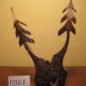 Black Walnut Double Trees #FCTD-2