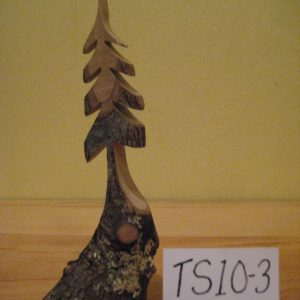Sculpted wood tree #TS10-3