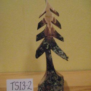Sculpted Wood Tree #TS13-2