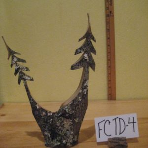 Double Sculpted Trees  #FCTD-4