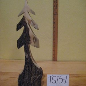 Sculpted Wood Tree  #TS15-1