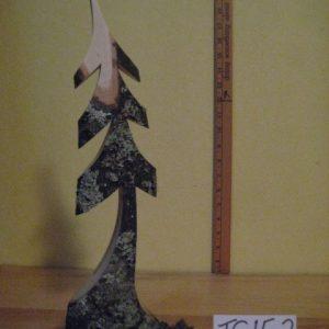Sculpted Wood Tree  #TS15-2