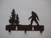 Sasquatch wall hooks