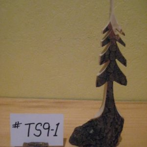 Sculpted Wood Tree  #TS9-1