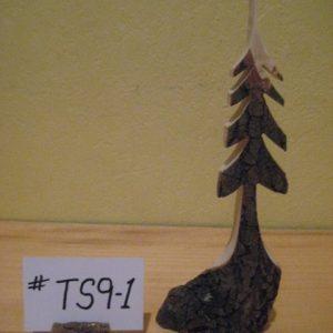 Sculpted Wood Tree  #TS9-1