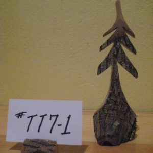 Sculpted Tree  #TT7-1